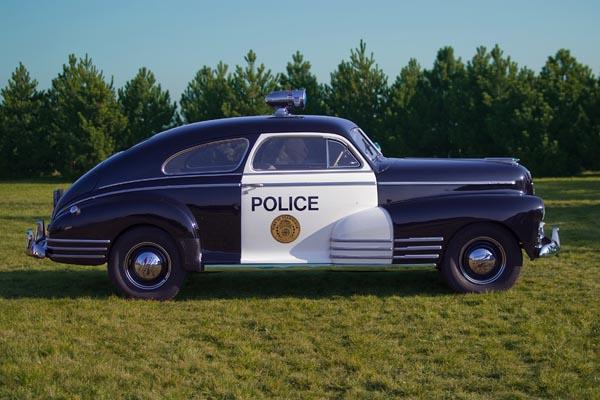 Policyjny Chevrolet